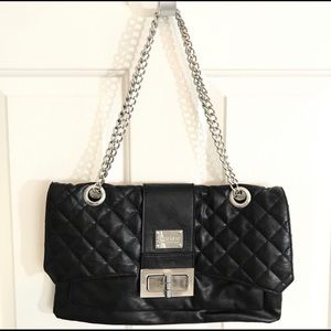 Jenna Kator Grosse Pointe Quilted Chain Strap Bag